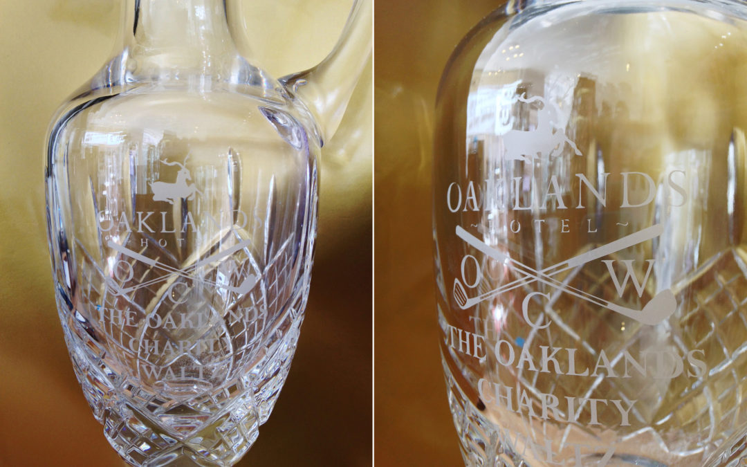 Crystal Claret Jug – The Oaklands Charity Waltz