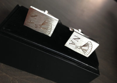 Cufflinks – Paratrooper