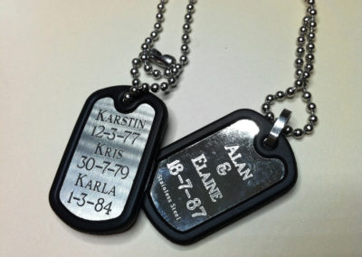 ID Dog Tags