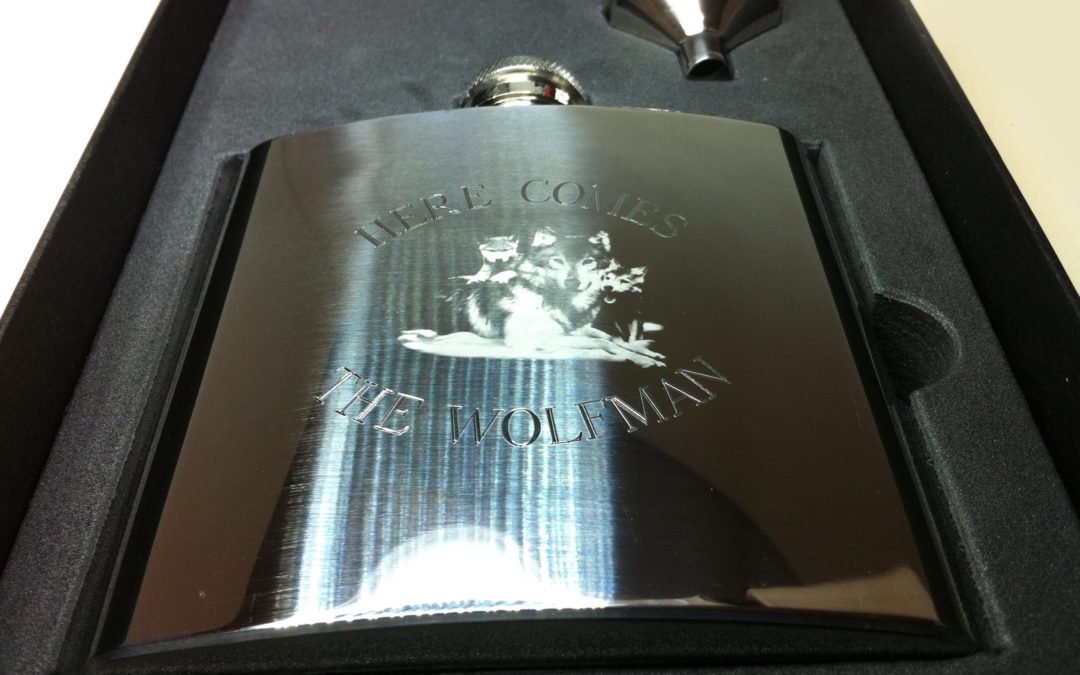 Wolfman Hip Flask