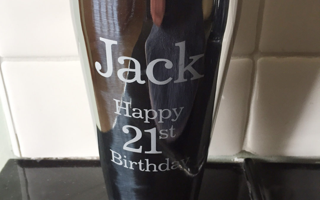Stainless Steel Cocktail Shaker – 21st Birthday