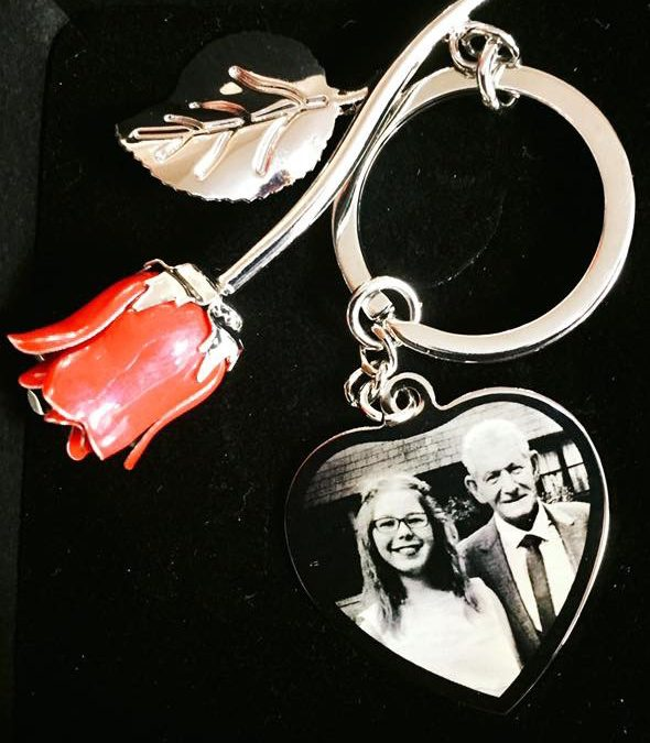 Rose Keyring – photo