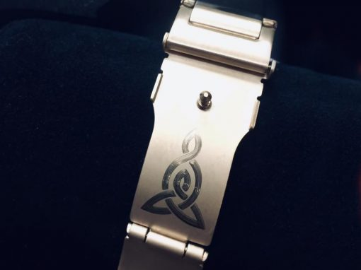 Watch strap – Mother & Son symbol
