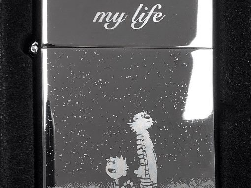 You light up my life – Calvin & Hobbes Zippo